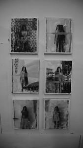 Aanya showcases her lastest project of self portraits.