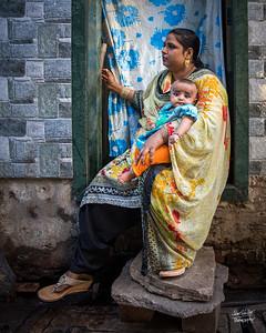 Mumbai Slums Mom