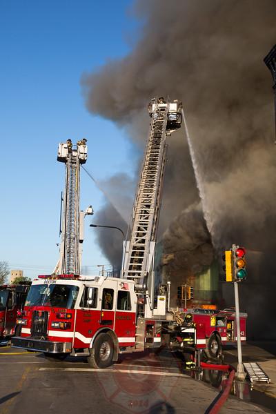 3-11 Fire 15400 Broadway May 2016 Harvey Illinois