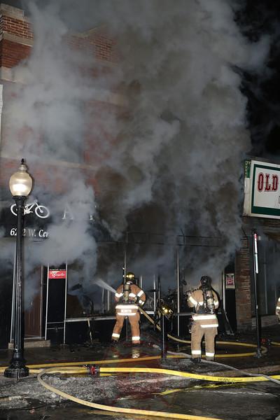 Berwyn Fire Department 2-11 Alarm Fire 6212 Cermak January 16, 2014
