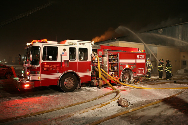 Bridgeview 411 Fire & Interdivisional Response 8687 77th Avenue January 29, 2008
