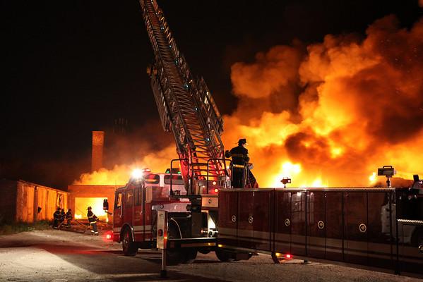 Cicero Fire Department Box Alarm 1820 S. Laramie August 29, 2010