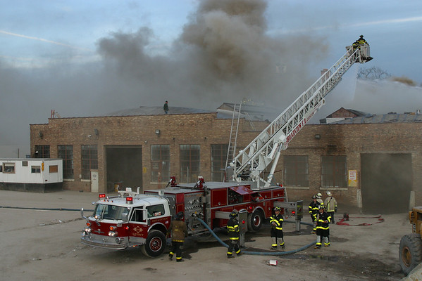 Forest Park 2-11 Alarm Fire 14th and Circle November 13, 2002