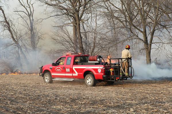 Pembrooke Fire Department 5th Alarm Brush Fire 15000 South & 3200 East Roads April 3, 2011