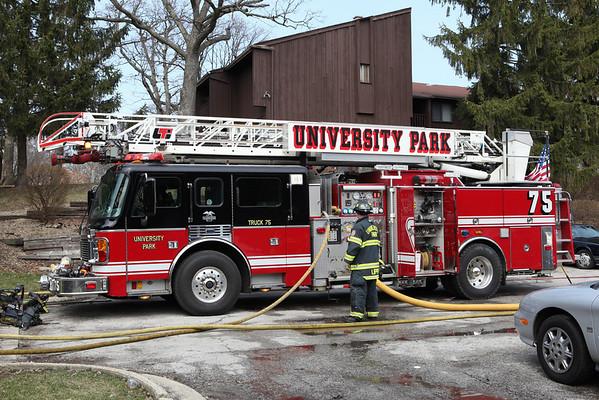 University Park Fire Department 2nd Alarm 743 Sandra March 21, 2010