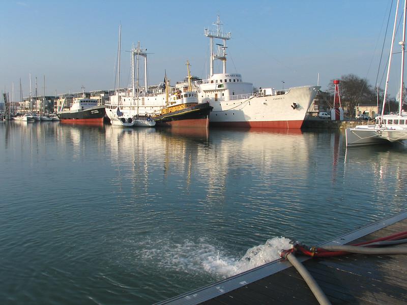 Bassin de L'Encan  -  la Rochelle