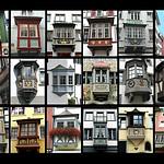bow-window , Oriel Saint Gallen ,Zurich, Stein am Rhein