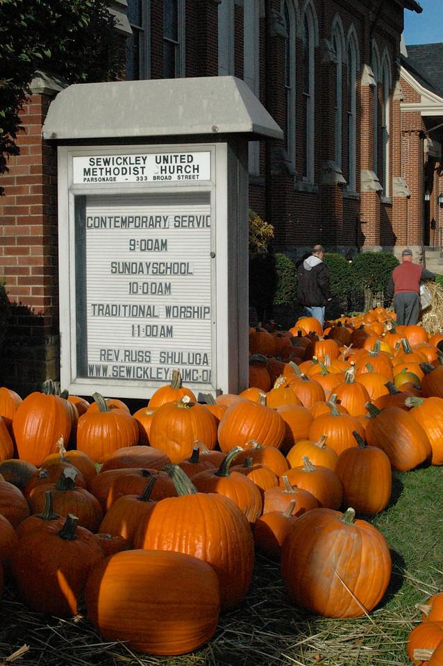 Worship & Pumpkins