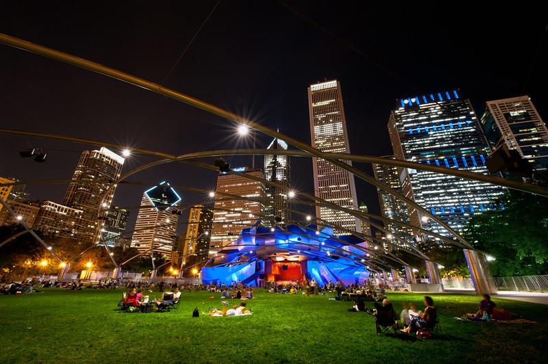 Summer Concert on the Lawn - Millennium Park, Chicago