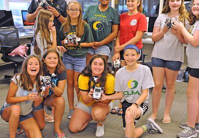 SUMMER ROBOTICS CAMP--- 07/25/19