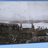 4. This was before the 1907 dam, since the penisula in the middle of the lake is still only a penisula. After the dam was built and the water rose, it became an island, now called Donoho Point. This picture, and another below, are enlarged and on information stands along the sidewalk north of the current dam. Their captions, however, provide little detail. You can see the interpretive sign in picture 29, below.