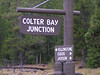 7. Colter Bay is about five miles north of Jackson Lake lodge, about about 18 miles south of Yellowstone National Park.