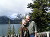6. We've taken our picture along side Jenny Lake for many years.
