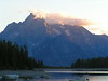 10. A near-sunset picture of Grand Teton.