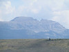11. Sheep Mountain, viewed from the west, has the appearance of a sleeping Indian.