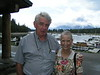 1. My sister, Sylvia, and good family friend, R.C. Owen of Newbern, TN met in the park in August. R.C. had to leave due to the injury of an extreme sunburn he received while with his family in the Yellowstone area the previous week. Sylvia stayed for almost a week.