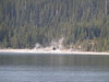 15. A little geyser activity on the south edge of Yellowstone Lake.
