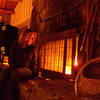7. I caught Erin after she had built the fire. Didn't have a tripod, so the pic is a little fuzzy.