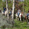 13. Had a couple of good trail rides this week. This was a particularly swell and interesting family from Charlotte.