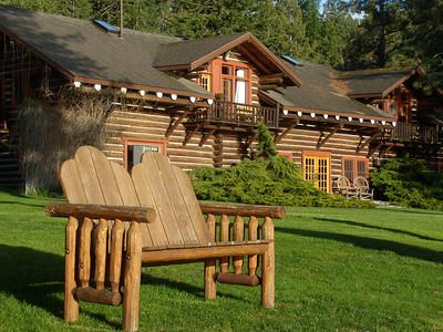 Around lodge and grounds  may 31
