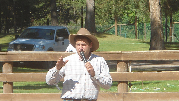Early August kids rodeo and bkfst ride