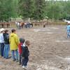 1. First kids' rodeo of the season, June 25, a grand day.
