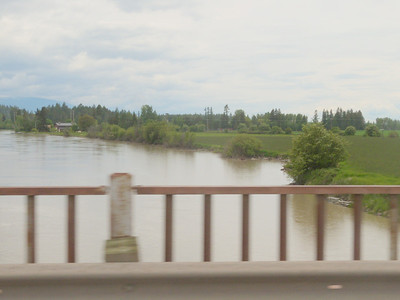 Rising water June 9