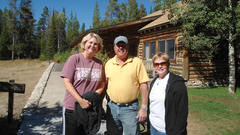 1. Patty, Brent and Libby got here on Sept 3 about 3pm.