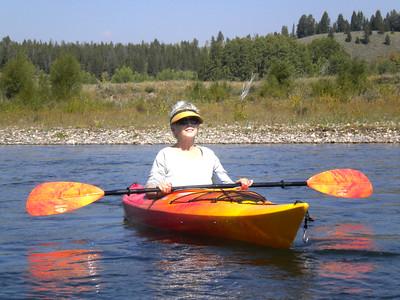 Floating the Snake River