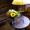 12. Always fresh wildflowers decorate the lobby.