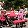 10. The best part of my work day at Lost Creek Ranch was getting to eat lunch with the Cutlers. Always an adventure.