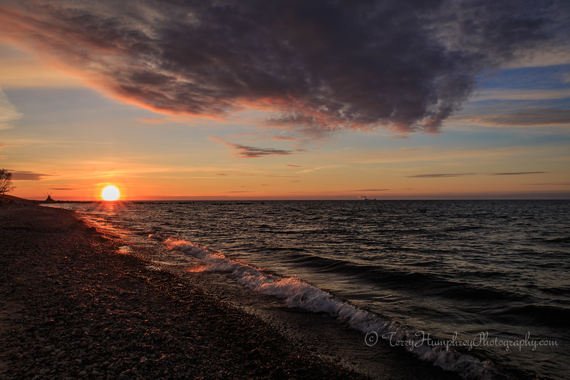 """Sunset at """"The Point"""""""