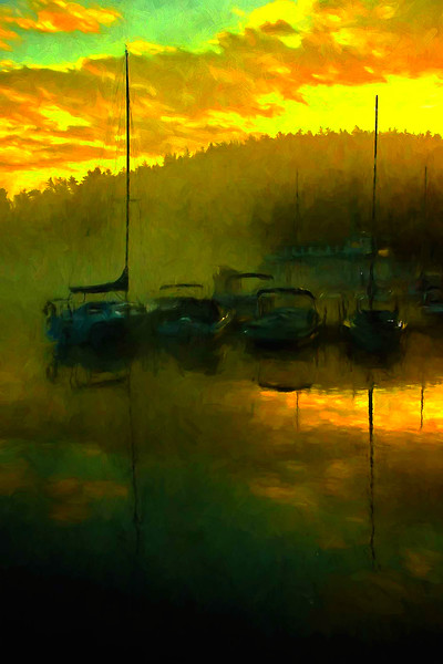 Sunapee Harbor sunrise #8