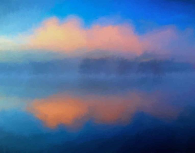 Kook Lake pastel
