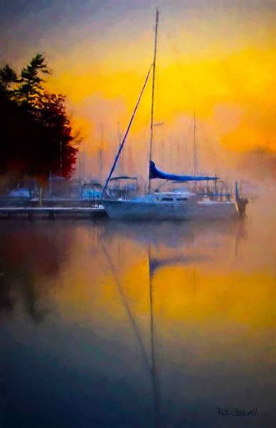 Sunapee Harbor sunrise #2