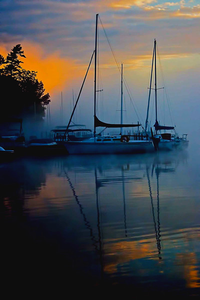 Sunapee Harbor  sunrise, NH #11