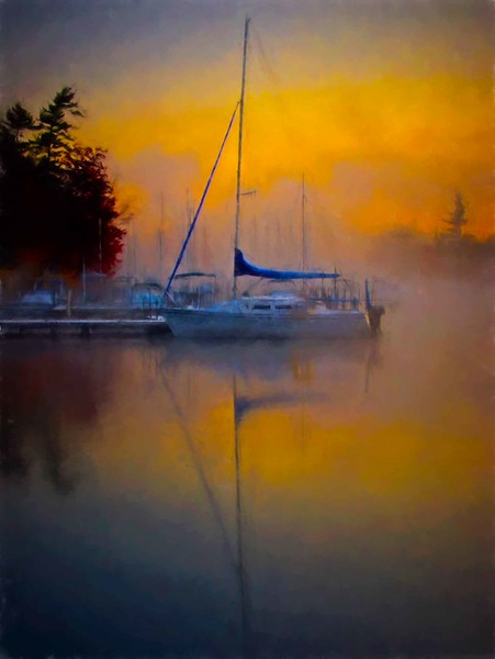 Sunapee Harbor sunrise #3