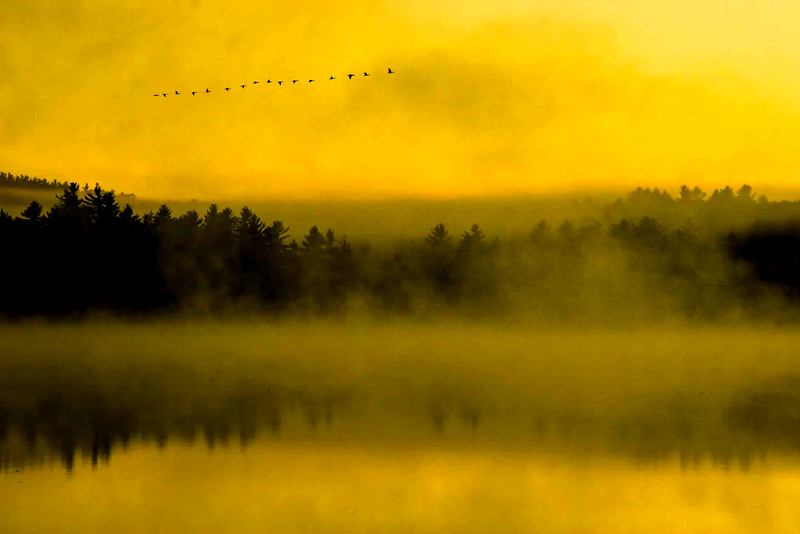 Keoka  Lake Sunrise, Waterford, Maine #2