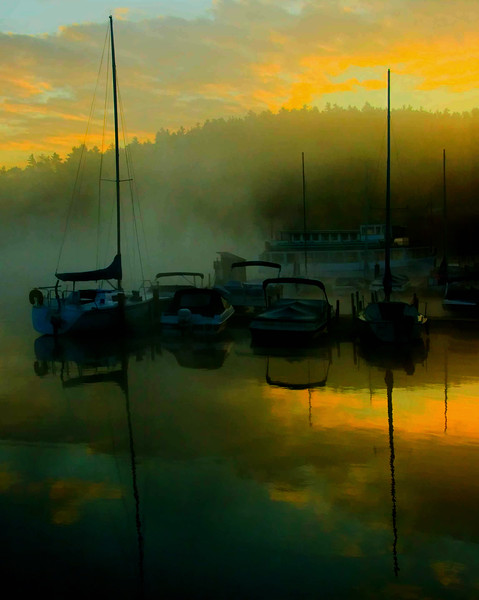 Sunapee Harbor sunrise, NH #12