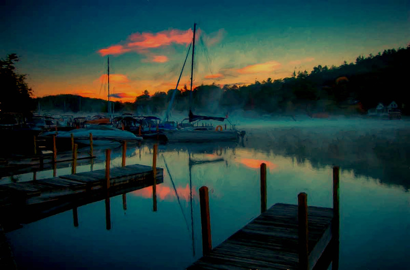 Sunapee Harbor sunrise #9
