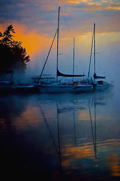 Sunapee Harbor sunrise