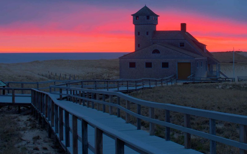 Old Coast Guard Station, Provincetown, Mass