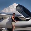Irena back home after her landing