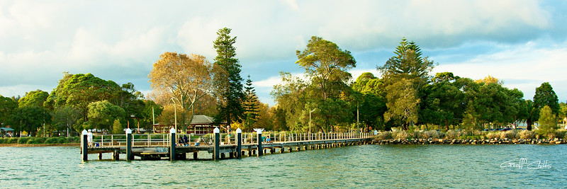 Speers Point  Wharf  Panorama.