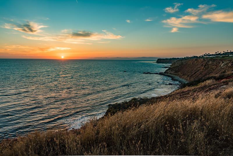 Rancho Palos Verde Sunset