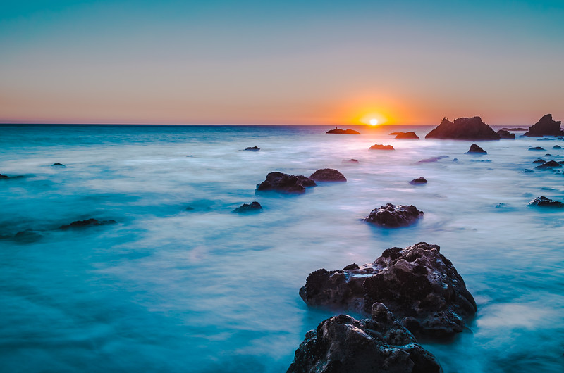 El Matador Beach Sunset