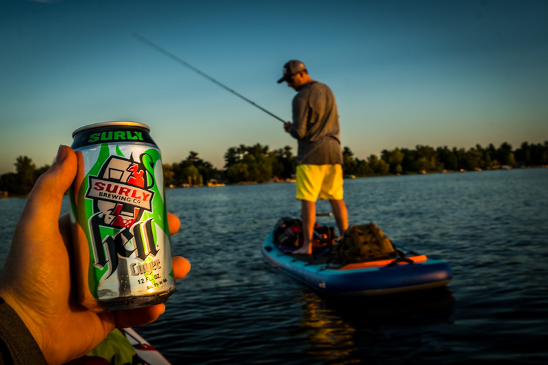 While you are fishing I am going to enjoy a tasty beverage lol