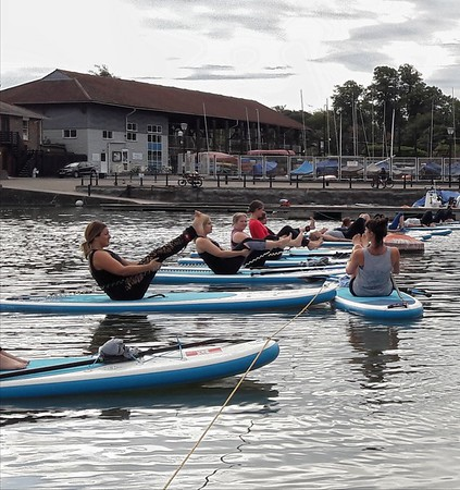 SUP Yoga, August 11 07.30