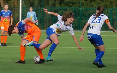 Marie Minnaert of KAA Gent Ladies - Lien Wyndaele of KAA Gent Ladies B