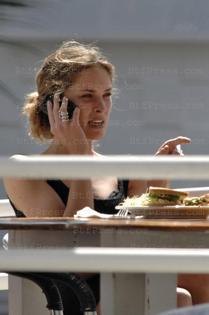 "EXCLUSIVE--- Santa Monica,California, March 18,2009- Super Model Erin Wasson is making beautiful funny face at Fred Segal during her lunch time. Wasson has graced the covers of numerous fashion magazines, including French, German, Spanish and Australian Vogue, Flair, Numero, Allure, Esquire and Elle, and walked international runways for notable designers like Armani, Balenciaga, Cavalli, Gucci, and Karl Lagerfeld; in addition, she walked the Victoria's Secret Fashion Show in 2007. Over the course of her career, she has had the opportunity to work with renowned photographers Steven Meisel, Mario Testino, Peter Lindbergh, Patrick Demarchelier and Ellen Von Unwerth. Her advertisement campaigns include Michael Kors, Rolex, Tiffany & Co., J.Crew, Levi's, H&M, and the Gap. Since 2002, Wasson has been the international face of Maybelline, appearing in print ads and television commercials for the iconic cosmetics brand. In the fall of 2008, she appeared opposite Justin Timberlake in a multimedia campaign for his clothing line, William Rast. The campaign includes a series of short films directed by Jonas Akerlund. Wasson plays Timberlake's love interest, ""Birdie."" For two seasons, Wasson played stylist for CFDA/Vogue Award-winning designer Alexander Wang, and in the spring of 2008 introduced her own line of jewelry, LowLuv. For Spring '09, Wasson is launching a womenswear collection - Erin Wasson x RVCA - in collaboration with surf and skate lifestyle brand RVCA. The line will be available at leading department stores and boutiques worldwide."